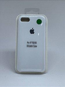 Capinha Silicone Apple - Branco - iPhone 7/8