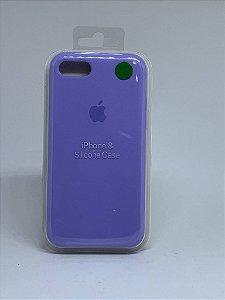 Capinha Silicone Apple - Lilás - iPhone 7/8