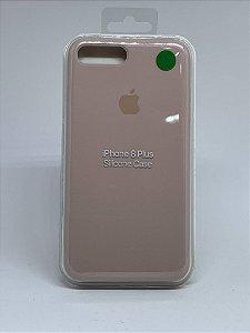 Capinha Silicone Apple - Nude - iPhone 7 Plus / 8 Plus