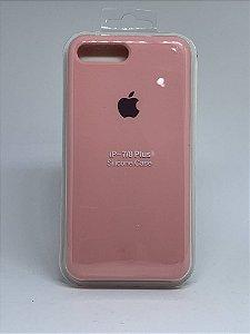 Capinha Silicone Apple - Rosa Bebê - iPhone 7 Plus / 8 Plus