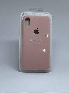Capinha Silicone Apple - Rosa Bebê - iPhone XR
