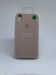 Capinha Silicone Apple - Nude - iPhone XR