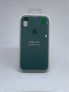 Capinha Silicone Apple - Verde Militar - iPhone XR