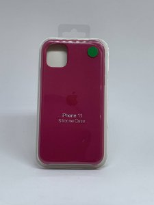 Capinha Silicone Apple - Marsala - iPhone 11