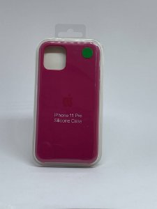 Capinha Silicone Apple - Marsala - iPhone 11 PRO