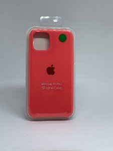 Capinha Silicone Apple - Rosa Neon - iPhone 11 PRO