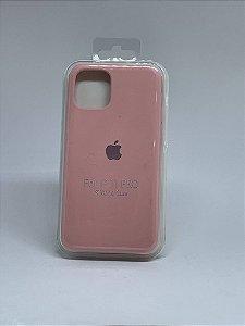 Capinha Silicone Apple - Rosa Bebê - iPhone 11 PRO