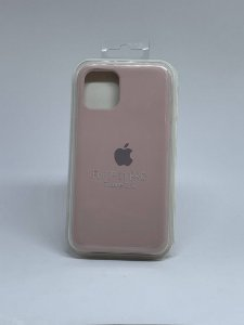 Capinha Silicone Apple - Nude - iPhone 11 PRO