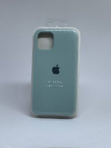 Capinha Silicone Apple - Verde Agua - iPhone 11 PRO