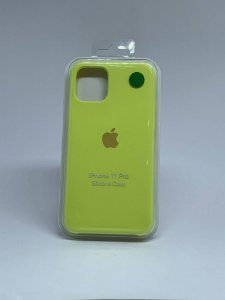 Capinha Silicone Apple - Amarela - iPhone 11 PRO