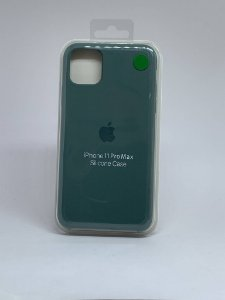 Capinha Silicone Apple - Verde Militar - iPhone 11 PRO MAX