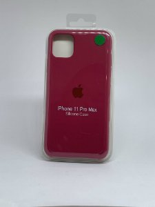 Capinha Silicone Apple - Marsala - iPhone 11 PRO MAX