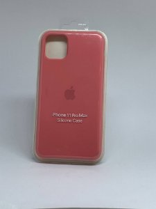 Capinha Silicone Apple - Rosa Coral - iPhone 11 PRO MAX