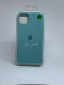 Capinha Silicone Apple - Verde Agua - iPhone 11 PRO MAX