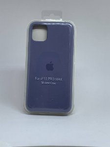 Capinha Silicone Apple - Azul Raf - iPhone 11 PRO MAX