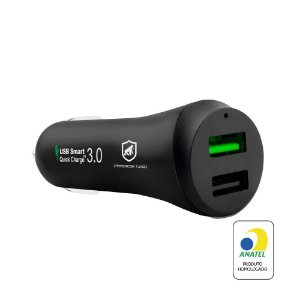 Carregador Veicular Turbo Fast Charger - GShield