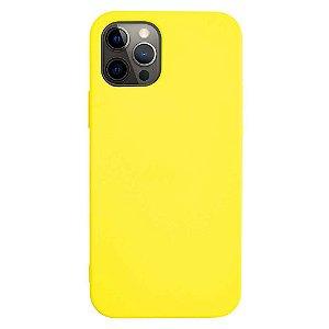 Capinha TPU Amarela - iPhone 12/12 Pro - iWill