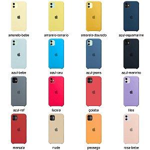 Capinha Silicone - iPhone 11 - Várias Cores