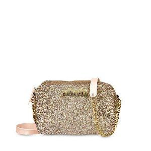 Bolsa PJ4276 Petite Gliter Ouro