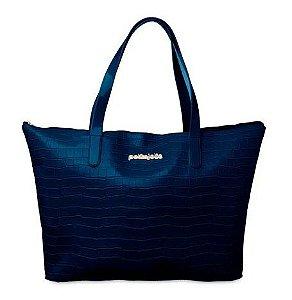 Bolsa Keeper PJ4817 Petite Jolie Croco Azul
