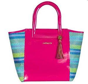 Bolsa Verano PJ4801 Tramado Beach Pink Lemonade/Multicolor