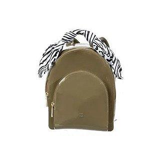 Bolsa Little Petite jolie PJ5114IN J-lastic onça/zebra Militar tamborim