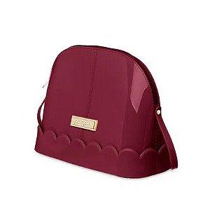 Bolsa Mind Petite Jolie PJ4654 J-Lastic Vinho Acordeon