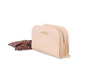 Bolsa Pretty Petite Jolie PJ5062  J-lastic/Onca/Zebra  Nude Flauta/Natural