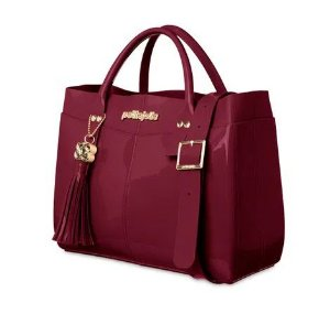 Bolsa Worky Petite Jolie PJ5061  J-lastic/Vinho Acordeon