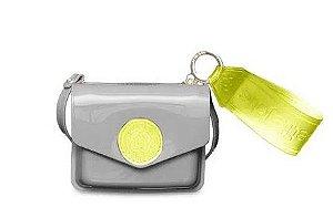 Bolsa/carteira Ruby PJ10040  J-Lastic Zoom Grey/Transl.Verde Abacate