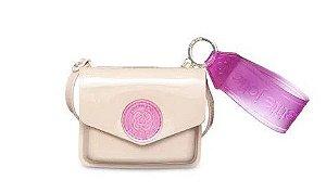 Bolsa/carteira Ruby PJ10040  J-Lastic  Nude/Transl Pink Pitaya
