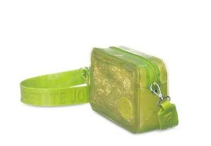 Bolsa Pop Petite Jolie PJ10044 J-Lastic/renda  transl Verde Abacate