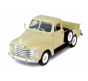 1953 Chevrolet 3100 Pick Up Welly 1:24 creme