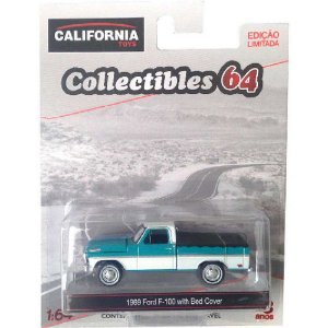 1969 Ford F-100 with Bed Cover California 1:64