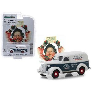 1939 Chevrolet Panel Truck 1:64 Greenlight Norman Rockwell