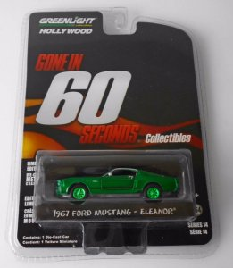 1967 Ford Mustang Eleanor Greenmachine 1:64 Greenlight 60 segundos