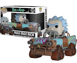 Mad Max Rick 37 Ride Pop Funko Rick and Morty