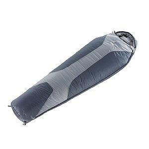 Saco de Dormir Deuter Orbit -5 Tipo Sarcófago - Cinza