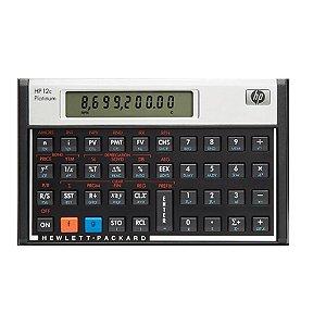 Calculadora Financeira Hp 12c Platinum Capacidade de memória - 400 passos