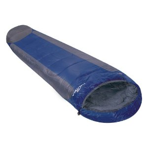 Saco de Dormir Nautika Mummy -1C a 8°C Tipo Sarcófago - Azul e Cinza