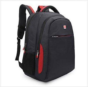 Mochila Laptop Denlex DL0241 - Vermelho e Preto