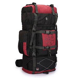 Mochila Camping  Denlex Cargueira 60L - Vermelha - DL0001 -  EAN 7899310500026