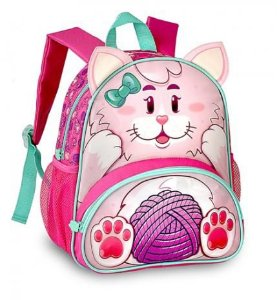 Mochila Infantil Clio Pets Gatinha
