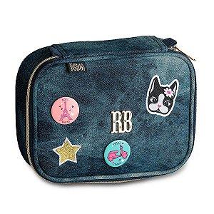 Estojo Rebecca Bonbon bottons  Jeans Escuro RB9141