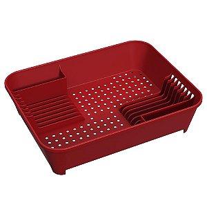 Escorredor de Louças Brinox - Vermelho