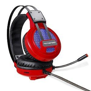 Headset Gamer Motospeed H10 Preto Fone e Microfone