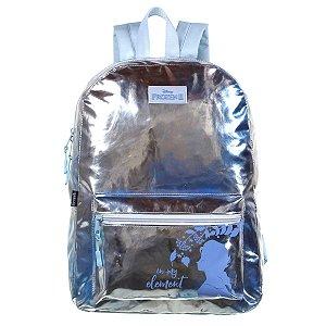 Mochila Escolar Dermiwil Frozen II Metalizada Costas 37817