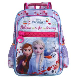 Mochila Escolar Dermiwil Polinylon Luxo Frozen II 37399