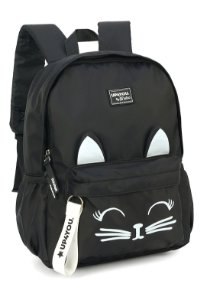 Mochila Up4You Maisa Gatinho MS45733UP Preto