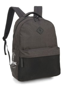 Mochila Escolar UP4YOU Bolso Telado MS45772UP Preto